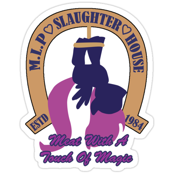 My Little Pony Slaughter House by inu14