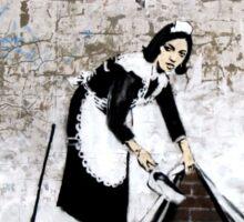 Banksy - Sweep it under the carpet N°1 Sticker