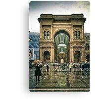 La galeria - Milano Canvas Print