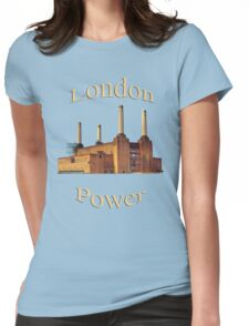 London Power Womens Fitted T-Shirt