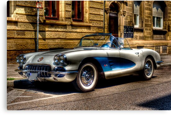 Corvette Oldtimer HDR by wulfman65