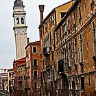 Leaning Tower of Venice by eddiechui
