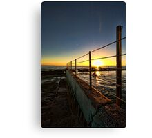 The Entrance Baths Canvas Print