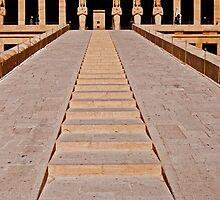 Mortuary Temple of Queen Hatshepsut (2) by eddiechui