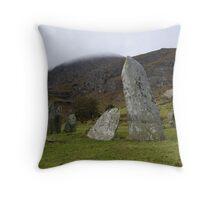 Shronebirrane Stone Circle Throw Pillow