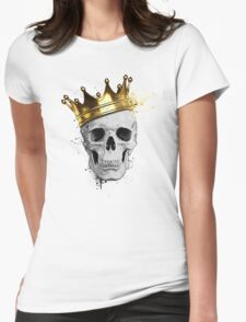 Royal Skull Womens Fitted T-Shirt