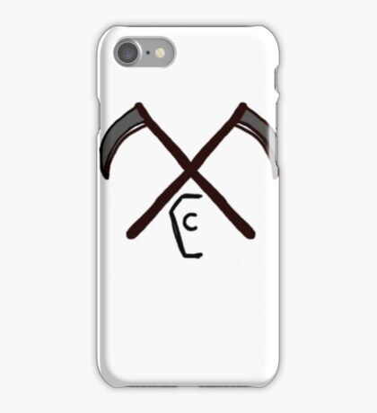 Coffin Squad Sythe iPhone Case/Skin
