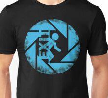 BLUE EXIT  Unisex T-Shirt