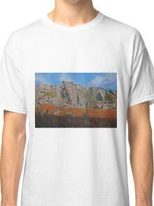 Stanage Edge Derbyshire Dales Classic T-Shirt