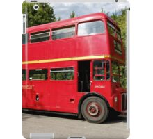Former London Transport Routemaster Bus RML2665 - SMK 665F iPad Case/Skin