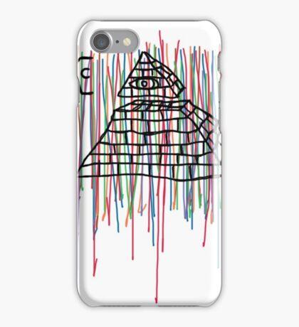 Coffin Squad Pyramid Colours iPhone Case/Skin