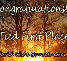 World Wide Sunset Group ... banner for tied first place by BCallahan