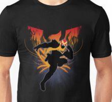 Super Smash Bros. Black Captain Falcon Silhouette Unisex T-Shirt