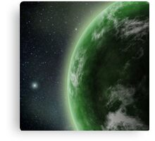 The Green Planet 2 Canvas Print