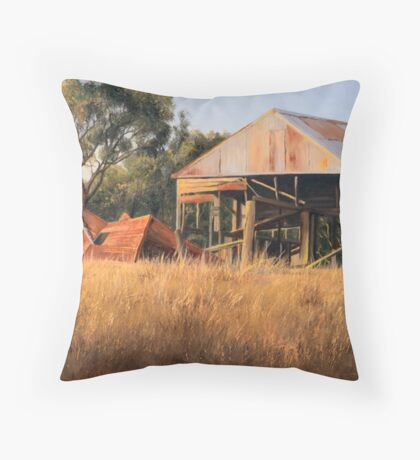 Golden Years - Kelly Road, Williamsdale, ACT, Australia. (2009) Throw Pillow