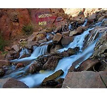Graffiti Falls Cascades Photographic Print