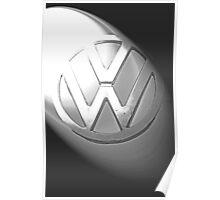 VW Kombi Logo 2 Poster