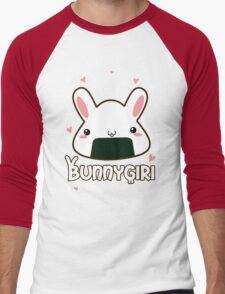 Bunnygiri - Bunny and Onigiri in one! Men's Baseball ¾ T-Shirt