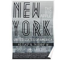 Metropolis New York Poster