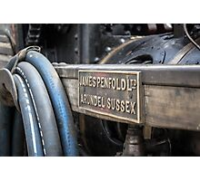 JP - Arundel Sussex Vintage Vehicle Photographic Print