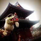 A festival in Asakusa! by Natasha O'Connor