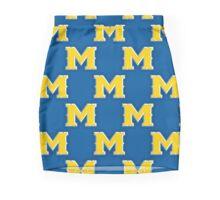 M Tile Pattern Mini Skirt