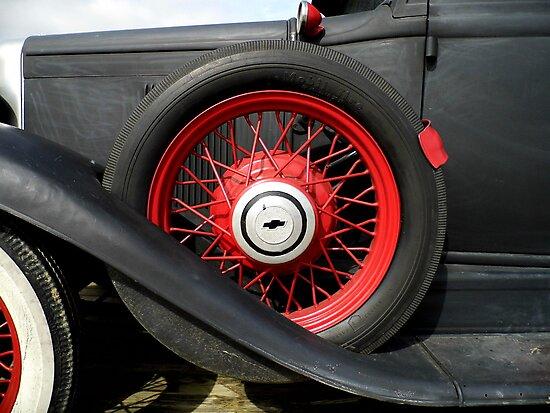 Vintage Auto by WildestArt