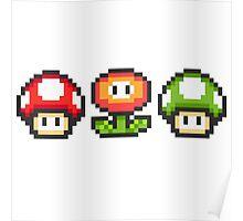 Mario Powerups! Poster