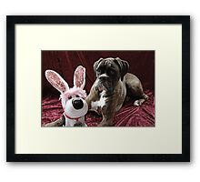 You Can't Fool Me... It's Not The Easter Bunny Framed Print