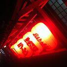Lanterns in Asakusa at Night by Natasha O'Connor