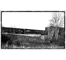 Slow Train Coming 2 Photographic Print