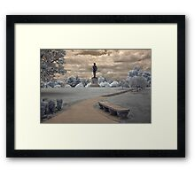 Orpheus in Infra Red at Fort McHenry in Baltimore, Maryland Framed Print