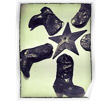 Boots & Star Poster