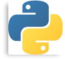 Python logo Canvas Print