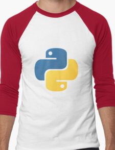 Python logo Men's Baseball ¾ T-Shirt