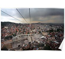 """Complexo do Alemão from the Cable Car...""  Poster"