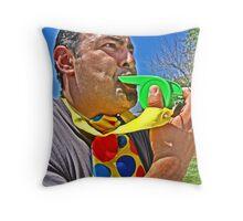 Whistle Blower Throw Pillow