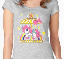 Pony Carousel Women's Fitted Scoop T-Shirt