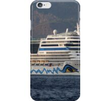 Aida Stella Cruise Ship Leaving Marmaris iPhone Case/Skin