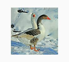 Geese in Snow - 1 Unisex T-Shirt