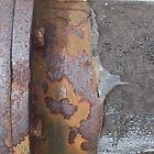Cockatoo Island - RB Rumble 2012 - Rusty Pipes Detail by Donnahuntriss
