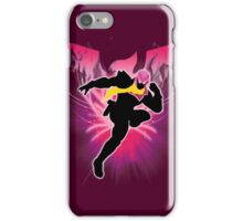 Super Smash Bros. Pink Captain Falcon Silhouette iPhone Case/Skin