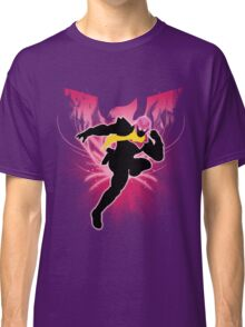 Super Smash Bros. Pink Captain Falcon Silhouette Classic T-Shirt