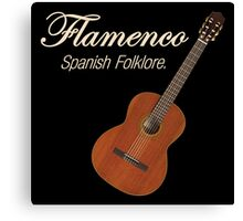 Flamenco Spanish Folklore Canvas Print