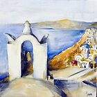 Memories of Santorini #2 by Ivana Pinaffo