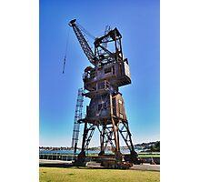 Slipway Crane Photographic Print