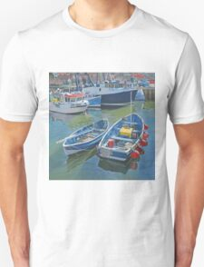 Side by side in Whitby Harbour T-Shirt