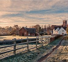 Landscape Cheshire Countryside Scenic View by Artification