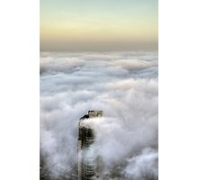 Crown under fog Photographic Print
