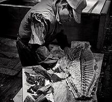 Maguro - Honoring the last morsel - Japan by Norman Repacholi